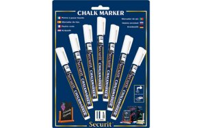 CHALK MARKERS WHITE